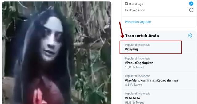 Trending Twitter Kuyang Mengalahkan Vina Garut Hiv - twitter