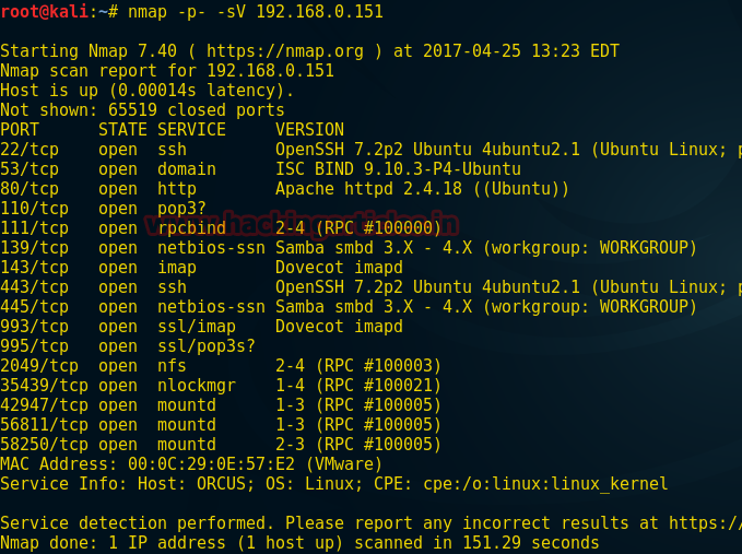 Hack the Orcus VM CTF Challenge