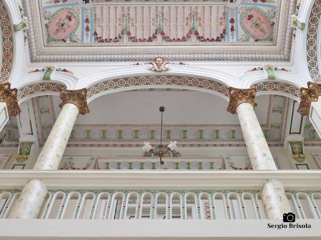 Palacete Basílio Jafet (Piso superior - detalhes)