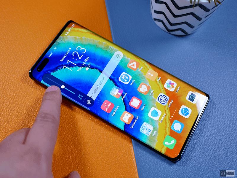 Huawei Mate 40 Pro screen