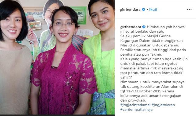 Postingan Putri Sultan Muslim United