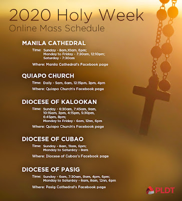 Celebrating Holy Week Online