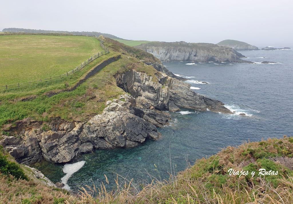 Acantilados de la Senda costera Naviega, Asturias