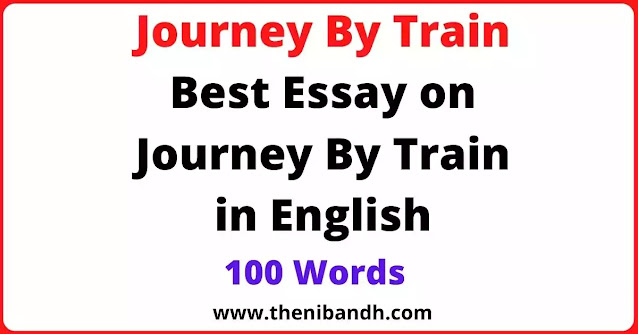 A Journey By Train text image