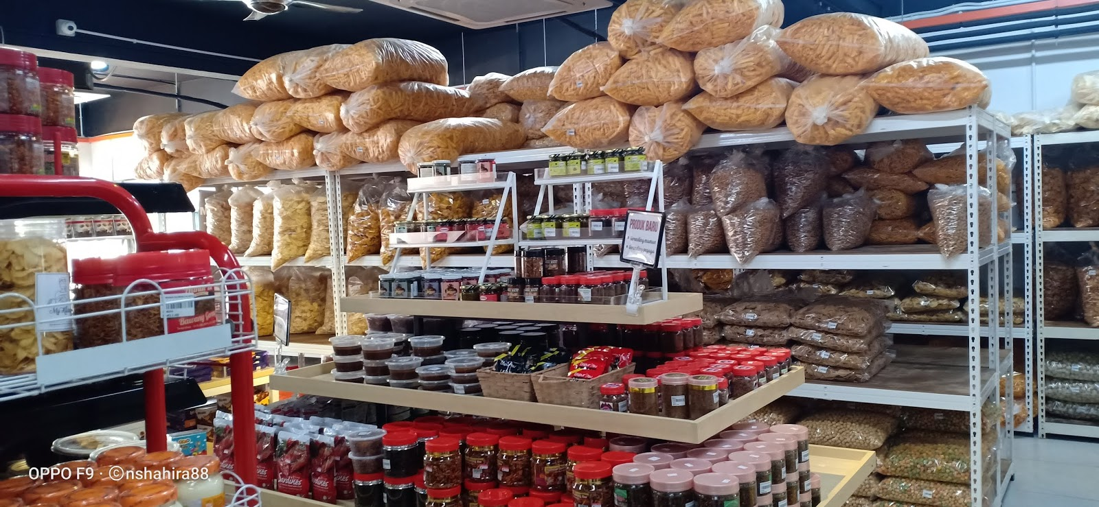 Kedai Kerepek Paroi Seremban Jual Bermacam Produk Bumiputera