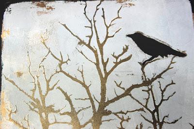 tree and bird masks