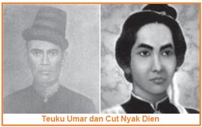 Teuku Umar dan Cut Nyak Dien