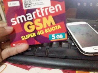 Kartu Smartfren Super 4G Kuota