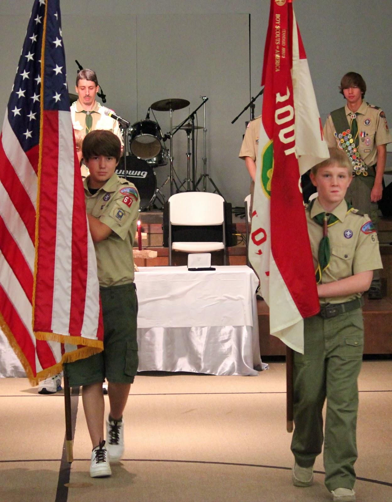 September 2013 - BSA Troop 67, Monticello, AR, USA