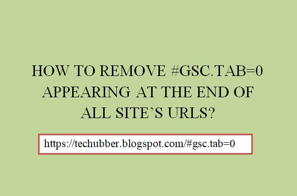remove gsc tab appearing at the end of all site URLs_2