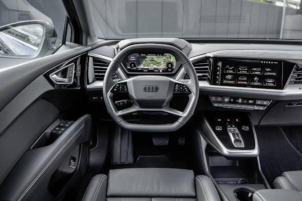 Audi Q4 e-tron - volante