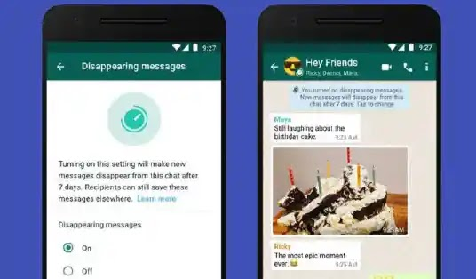 WhatsApp disappearing messages feature to add 24 Hours Option