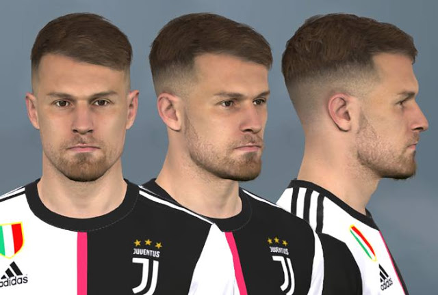 PES 2017 Aaron Ramsey New Face by WER Facemaker