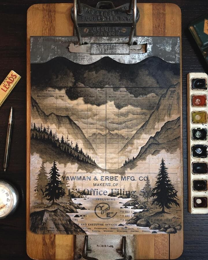 03-Nature-on-a-clipboard-Nicholas-Baker-www-designstack-co