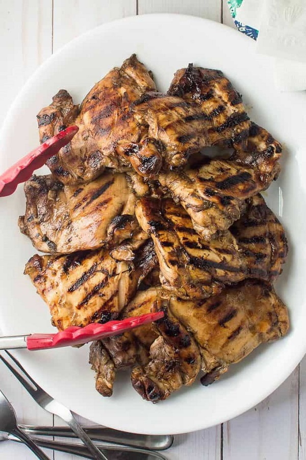 Easy Balsamic Marinated Grilled Chicken