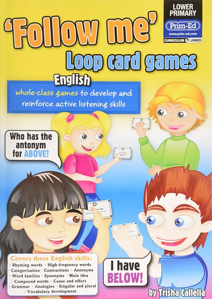 Follow Me. Loop Card Games. English
