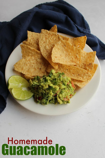 Classic guacamole is the perfect mix of avocado, tomato, a bit of lime and some seasonings. This recipe makes a delicious heap of guacamole goodness perfect for dipping or topping your favorite Tex-Mex recipes.