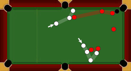 blackball pool rules laying snookers