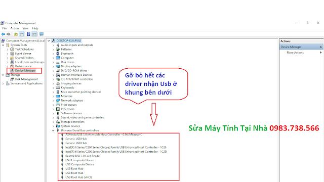 Sửa lỗi không nhận USB 3.0 - H03