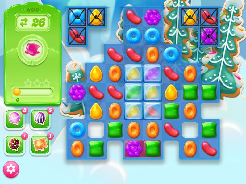 Candy Crush Jelly Saga level 600