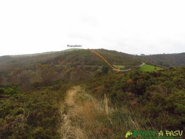 Camino al Outeiro Grande o Posadoiro