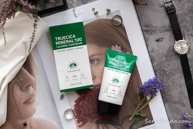 Some By Mi Truecica Mineral 100 Calming Suncream SPF 50+  отзыв