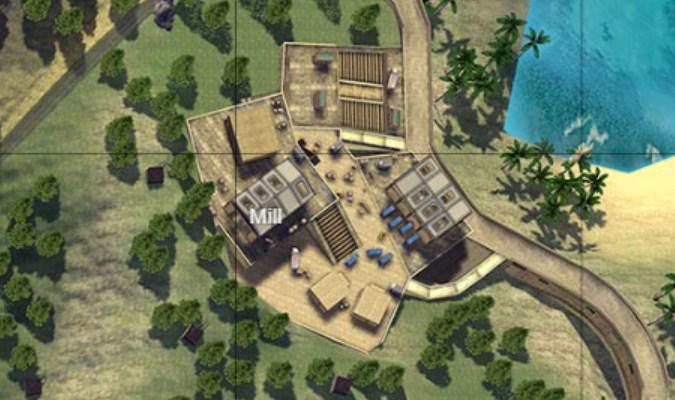 Lokasi Loot Terbaik di Game Free Fire - Mill