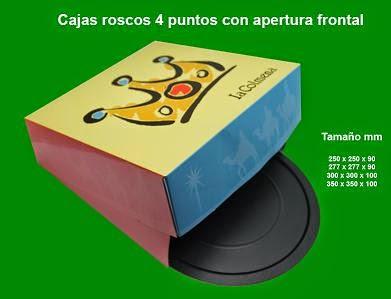 caja roscón de reyes- tortell de reyes
