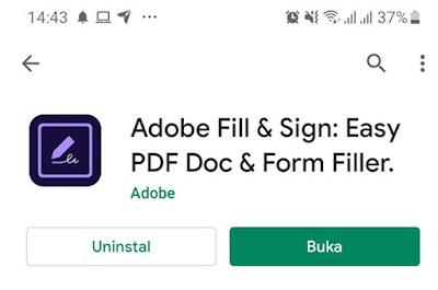 Cara membuat tanda tangan digital di android