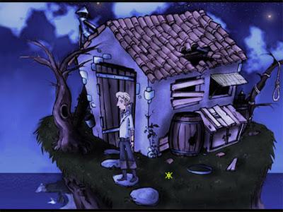 Detalle escenario El Amuleto de Monkey Island