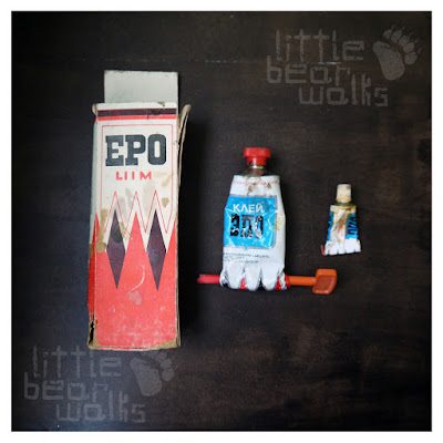 ЭПО клей / EPO liim