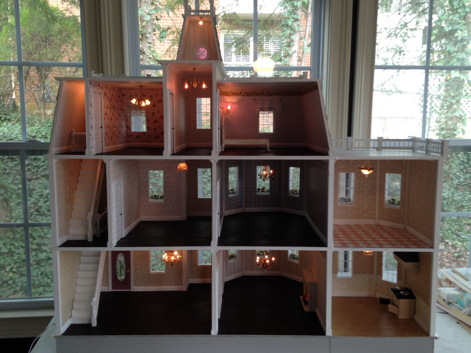 lighting for dollhouses. On The Inside I Installed Lighting And My Package C Finishings With Many More Upgrades. For Dollhouses