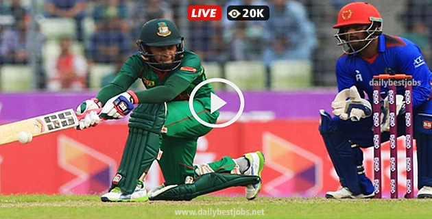 Asia Cup 2018 BAN Vs AFG Live Streaming Cricket Scores Online