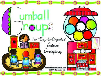 FREE Gum Ball Grouping Pack!