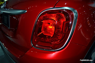 2016 Fiat 500X Tail lights