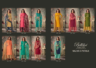 Belliza Designer Nazar E Patiyala Vol 4 Jam Cotton Salwar