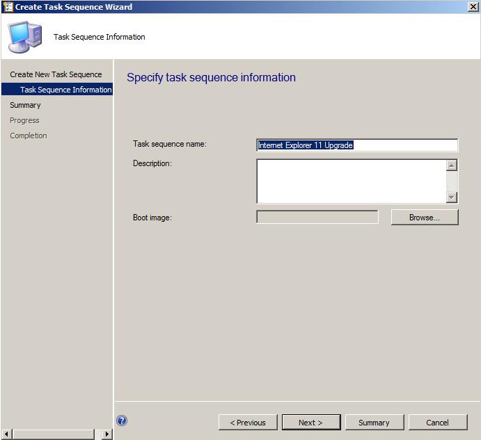 Venu Singireddy's blog: SCCM Task Sequence to deploy