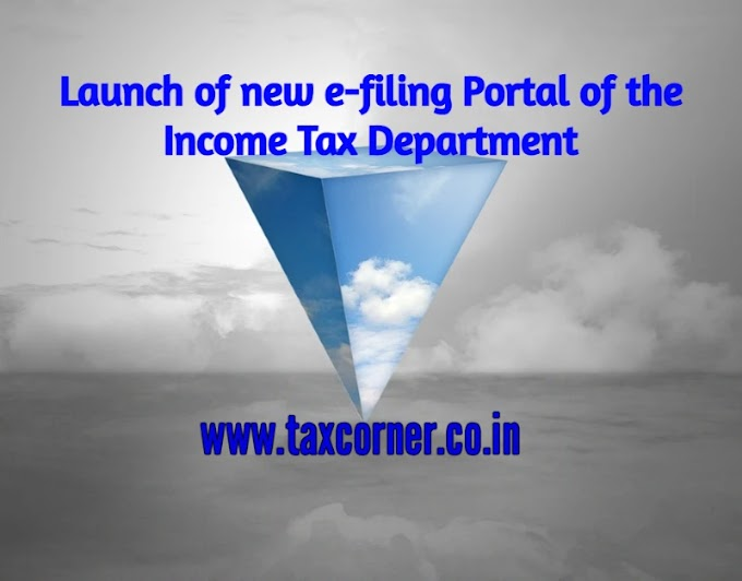 Launch of new e-filing Portal of the Income Tax Department