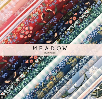 Meadow fabric by Rifle Paper Co. for Cotton + Steel
