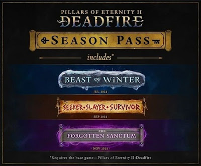 Pillars of Eternity 2: Deadfire Expansions