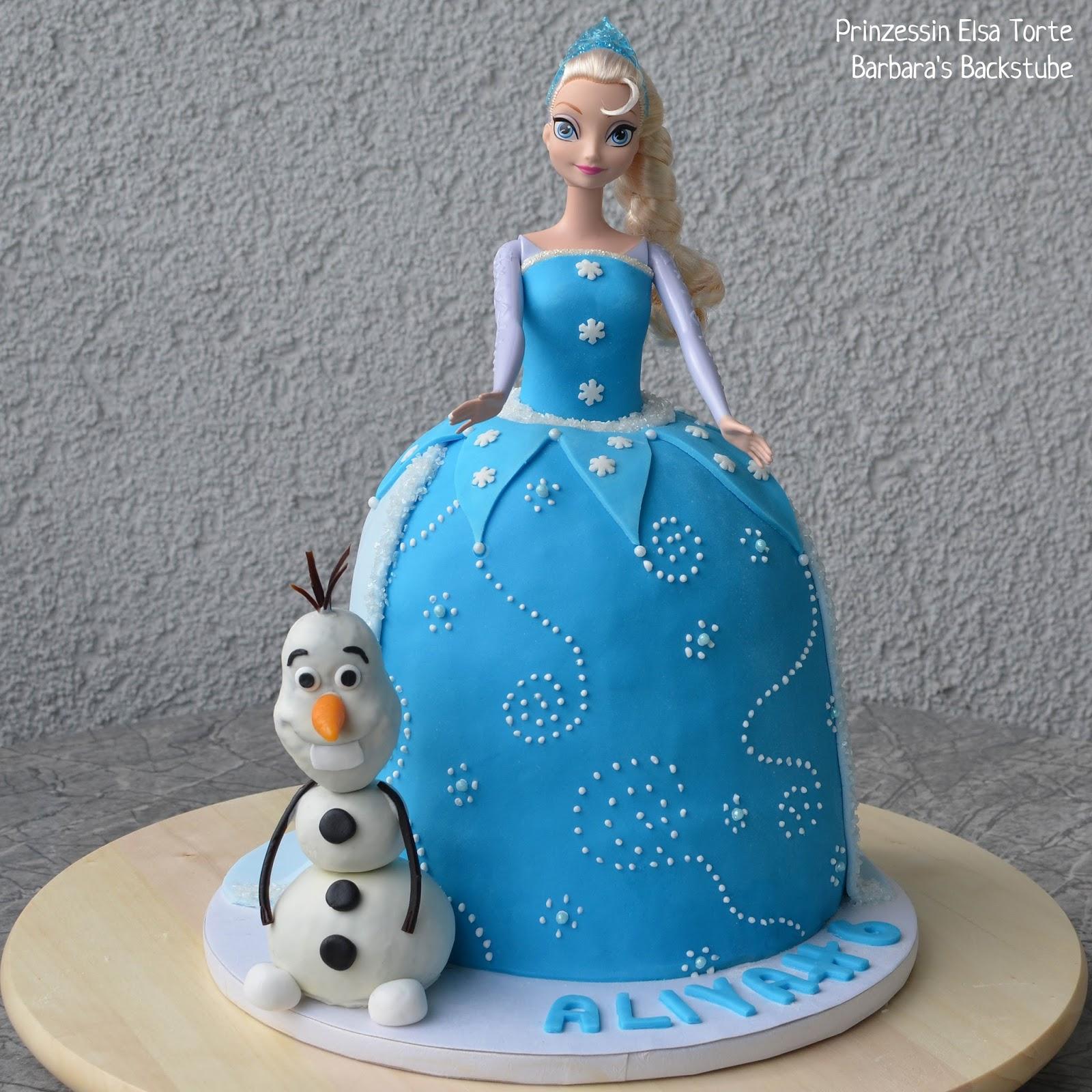 Barbara S Backstube Prinzessin Elsa Torte Luftiger Schokokuchen