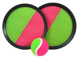 Velcro ball throw and catch