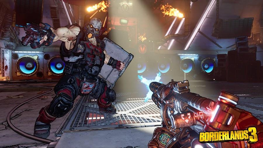 borderlands 3 video game boss fight gameplay