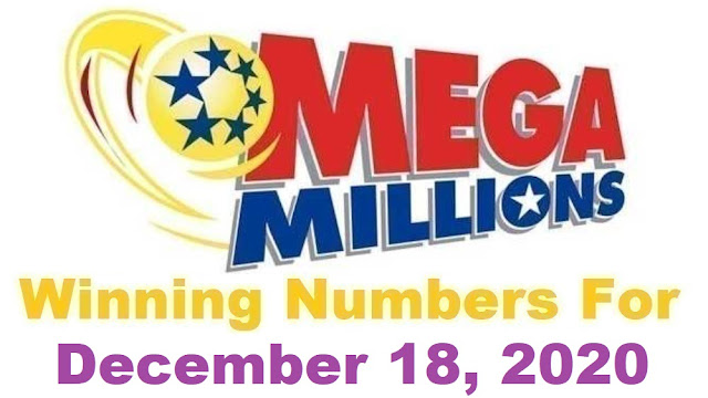Mega Millions Winning Numbers for Friday, December 18, 2020