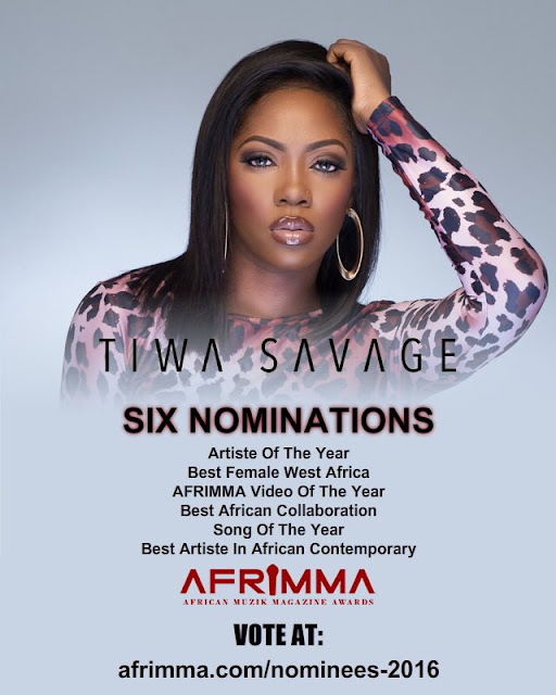 Tiwa Savage: artist of the year