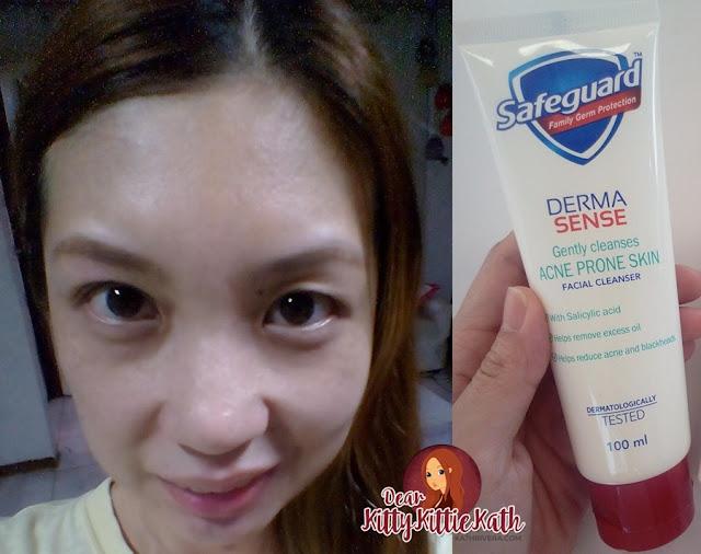 Revisión del producto Safeguard Derma Sense Facial Cleanser Acne-1131
