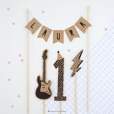 topo bolo festa rock infantil
