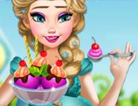 لعبة بنات طبخ مع السا الحامل