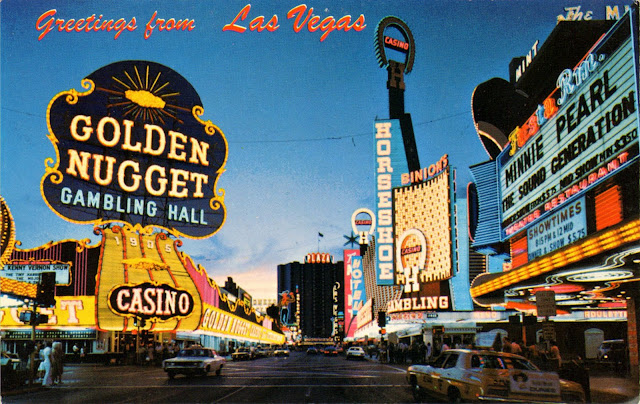 Pictures Of Las Vegas In 1950s 60s Vintage Everyday
