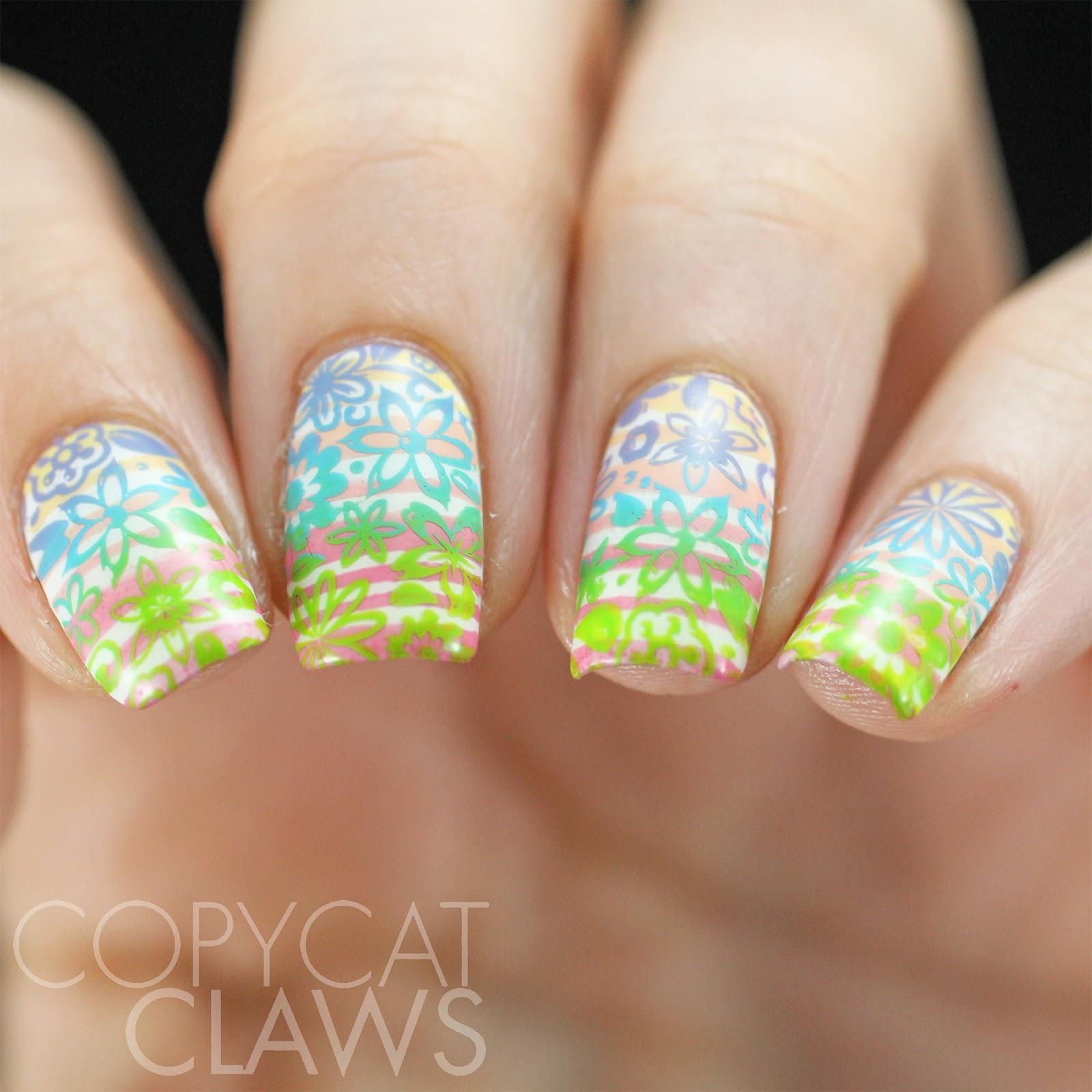 Copycat Claws: 40 Great Nail Art Ideas - Pastel